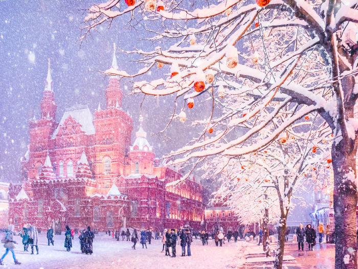 Снег, принесший много радости всем, от мала до велика.