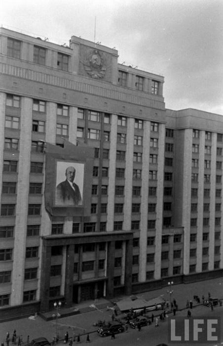 Советская площадь, 1947 год.