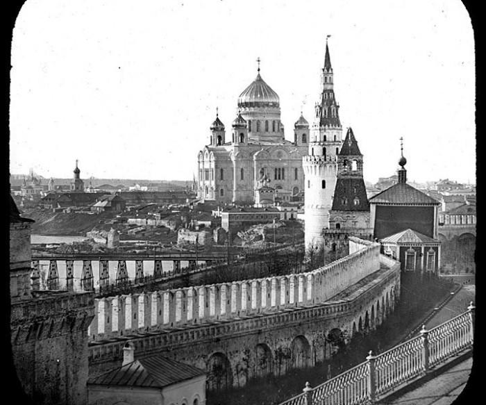 Храм Христа Спасителя, 1857-1858 годы.