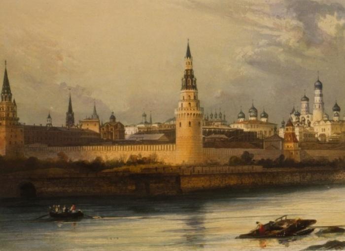 Старинные фотографии Москвы