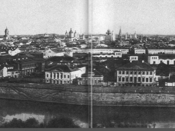 Панорама Замоскворечья из Кремля.