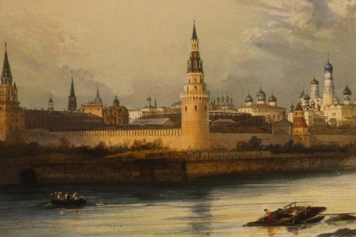 Первые фотографии Москвы.