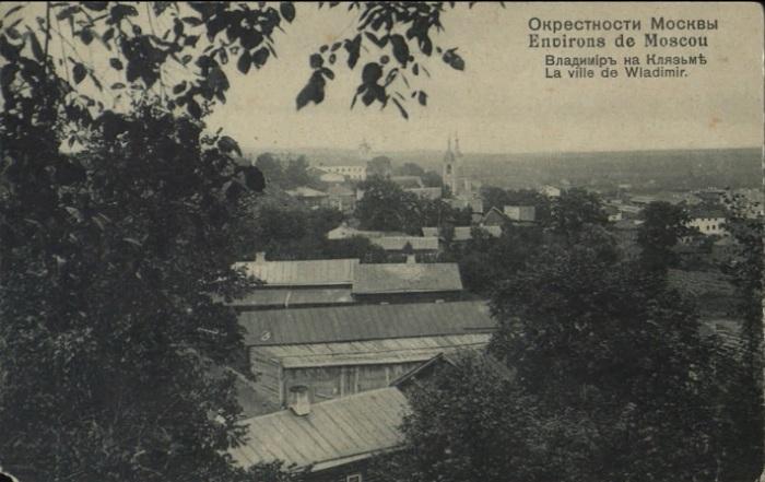 Панорама элитного посёлка в окрестностях Москвы.