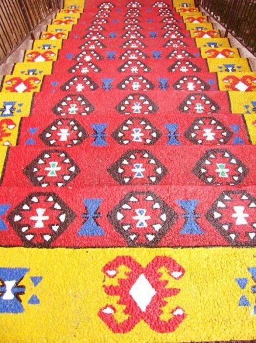 Лестница «Pirot's Carpet».