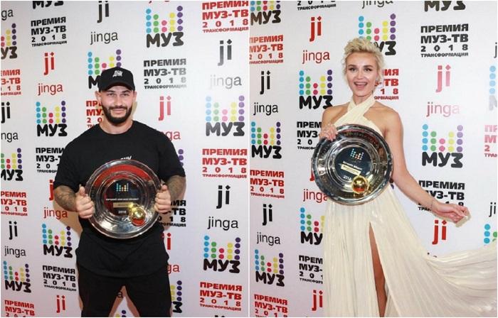 Победители «МУЗ-ТВ 2018».