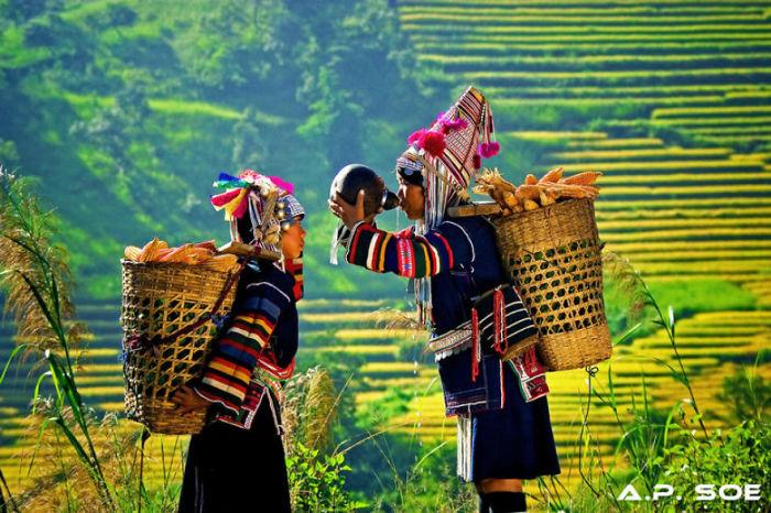 Фотографии Мьянмы, от которых захватывает дух.