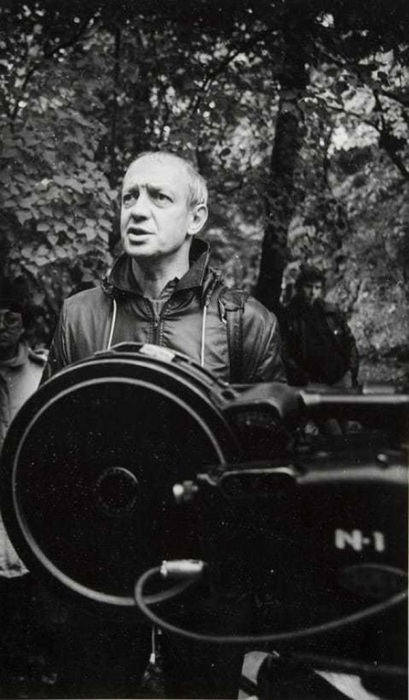 Съемки фильма «На берегах пленительных Невы...». 1982 год.