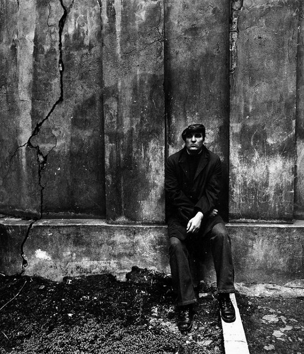 Алексей Петренко в главной роли на съемках фильма. 1977 год.