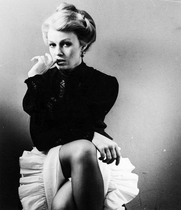 Актриса Наталья Андрейченко, претендующая на роль в фильме. 1985 год.