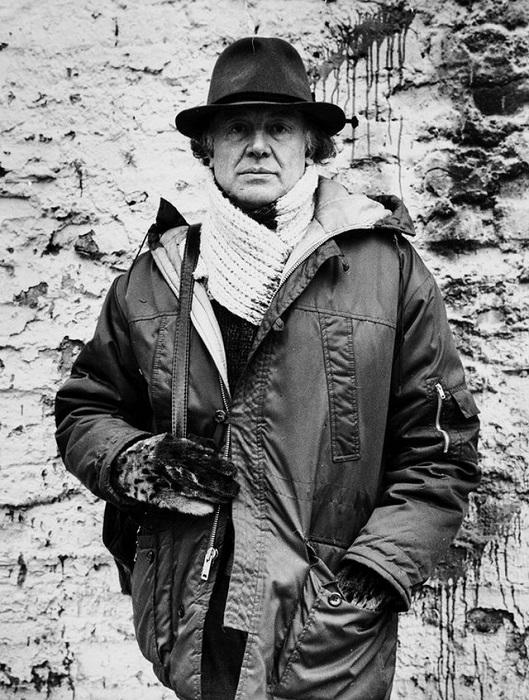 Советский и российский актёр театра и кино Иннокентий Смоктуновский. 1984 год.
