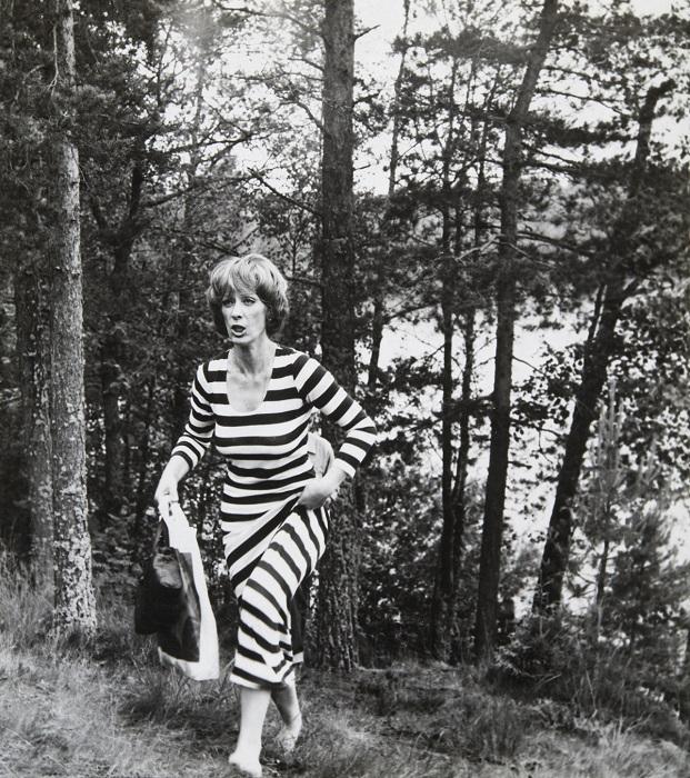 Знаменитая российская актриса театра и кино – Екатерина Васильева. 1982 год.