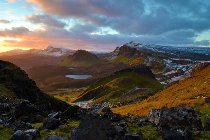 Остров в архипелаге Внутренние Гебриды на западе Шотландии. Фотограф: Andy Dines.