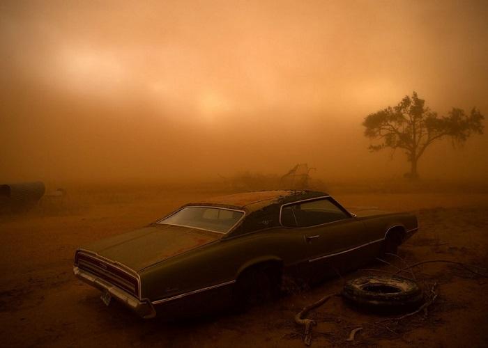 2-е место в номинации «Места» присуждено фотографу Николасу Моиру (Nicholas Moir) за снимок ржавого автомобиля Ford Thunderbird, покрытого слоем пыли после бури.