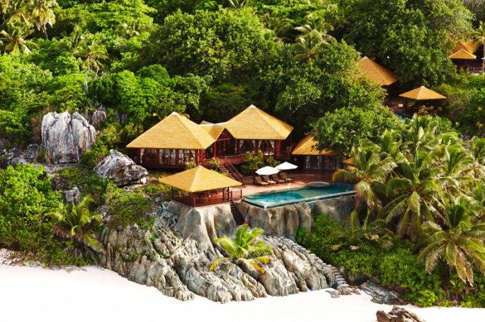 Один из самых роскошных отелей Сейшел, уютно расположившийся на частном острове Фрегат, утопающем в пышной тропической зелени.