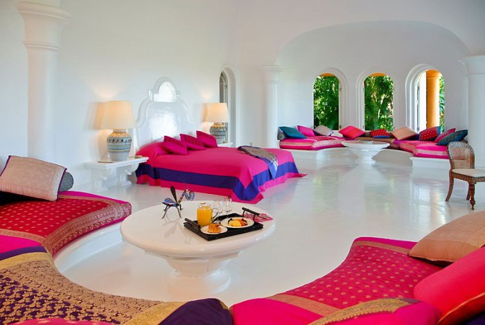 Роскошный отель, расположенный на территории заповедника Chamela-Cuixmala на тихоокеанском побережье Мексики.