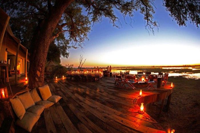 Ландшафт Ботсваны и дикая природа безмерны, и нет лучшего места, чтобы наслаждаться ею, чем уединённая сафари-палатка.