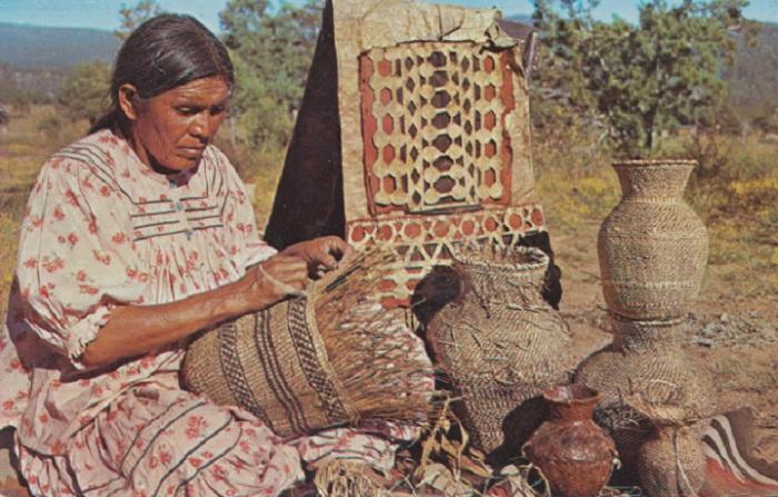 Индейские корзины, пожалуй, старейшее изобретение культуры американских индейцев.