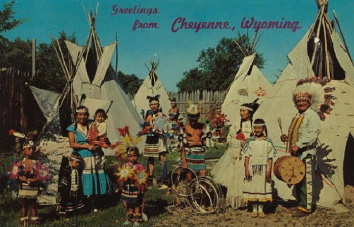 Город Шайенн, штат Вайоминг  назван в честь племени индейцев.