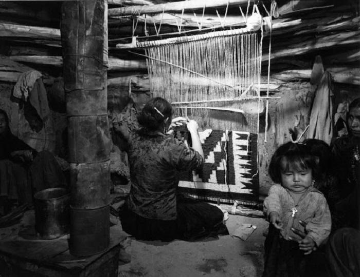 Семья Натани. Недалеко от Ганадо, Аризона, 1948 год.