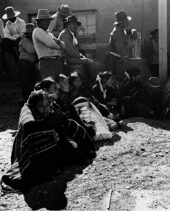 Люди из племени Навахо, 1948 год.