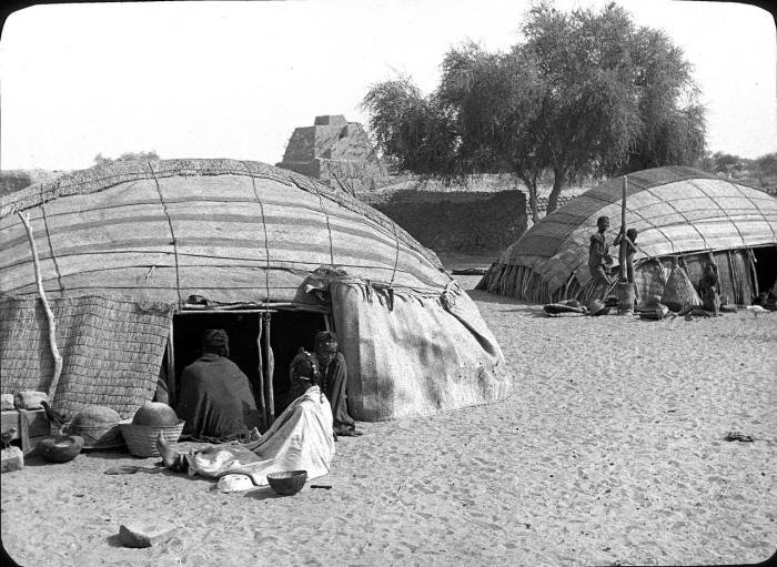 Кочевники севера Кувейта.
