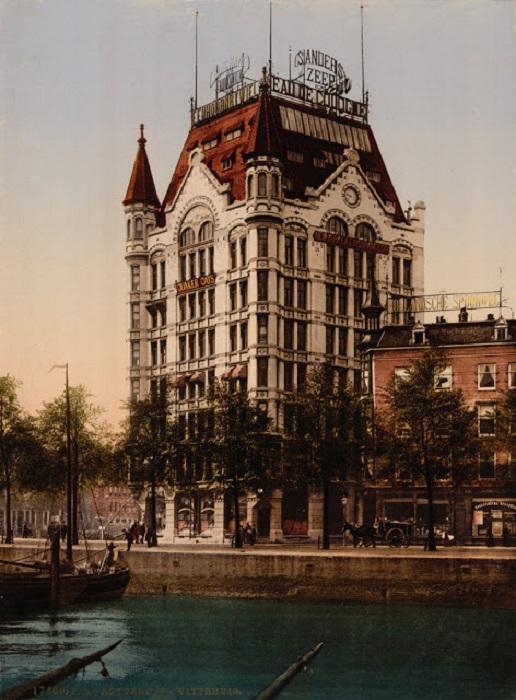 Первый небоскреб Роттердама и Европы.
