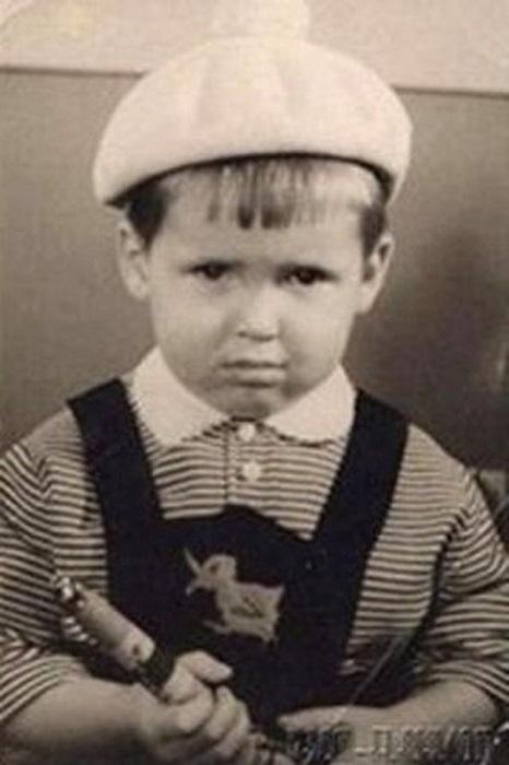 Никита Джигурда в детстве.