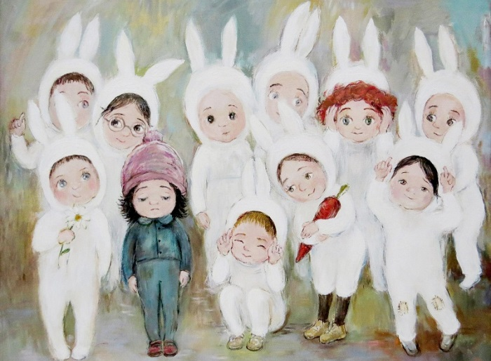 Трогательные картины о детстве.