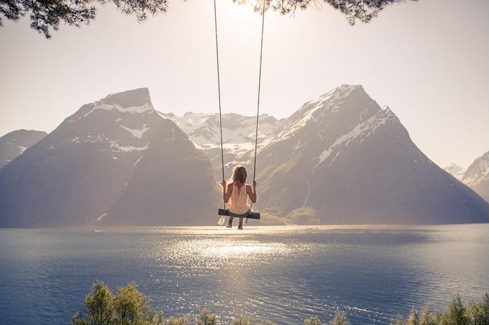 Один из многочисленных норвежских фьордов.