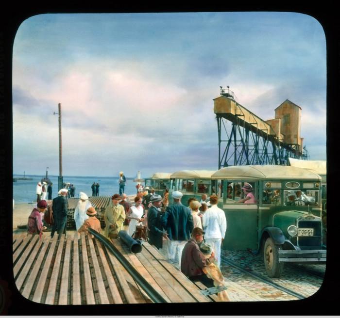 Так выглядел одесский порт в далёкие 1930-е.