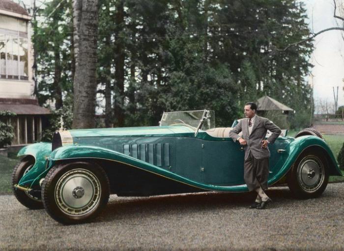 Автомобилестроитель, сын основателя известной французской марки Bugatti.