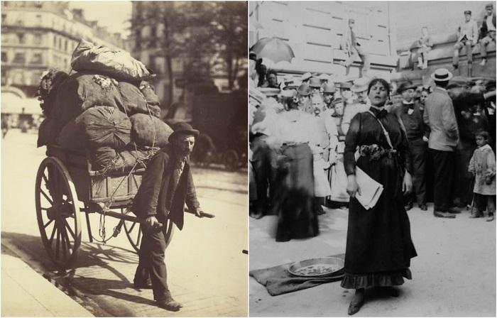 Эксклюзивные фотографии Парижа, сделанные в конце XIX - начале XX века.