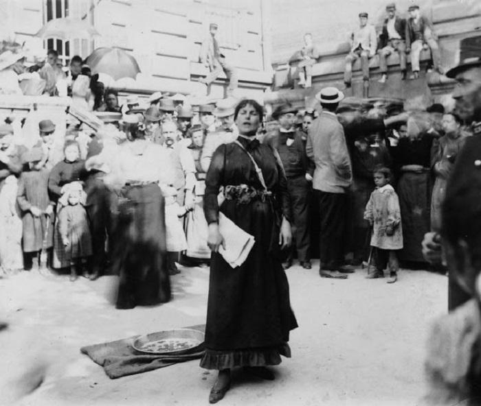 Евгения Буффет. Франция, Париж, 1920 год.
