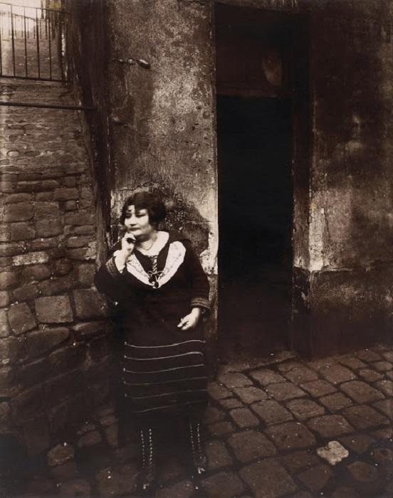 Куртизанка. Франция, Париж, 1921 год.