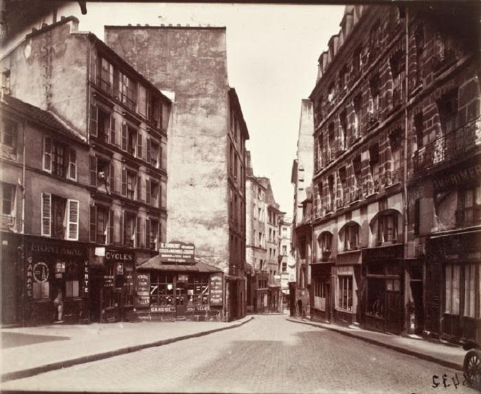 «Rue de la Montagne». Франция, Париж, 1910 год.