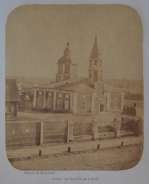 Православный храм в Орле, существовавший на Болховской улице с момента основания города.