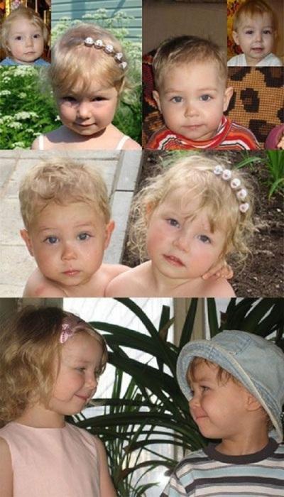 Двойняшки, которым удалось почувствовать родительскую любовь и заботу.