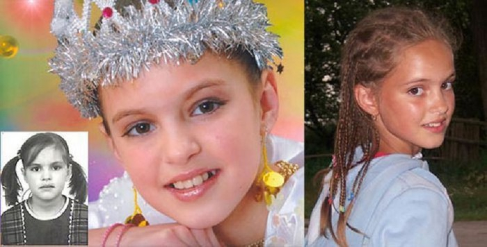Радость и блеск в глазах девочки, побывавшей в детском доме.