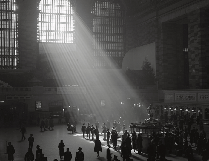 Центральный вокзал в Нью-Йорке.