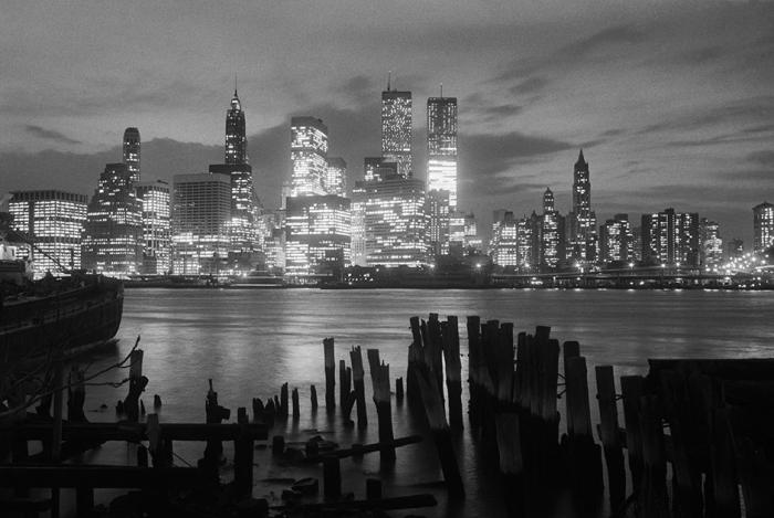 Нью-Йорк до событий 11 сентября 2001 года.