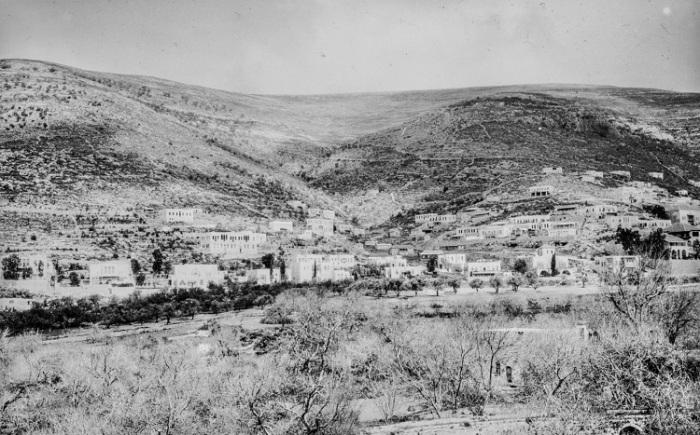 Панорама исторической области в Самарии.