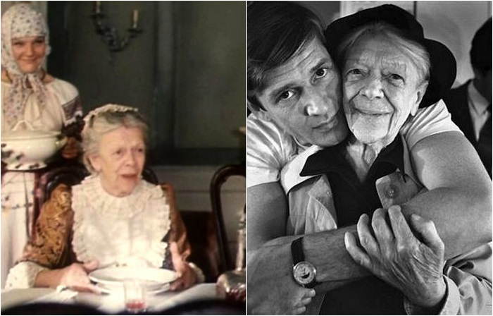 Народная артистка СССР сыграла заботливую тётушку Алексея - Федосью Ивановну.