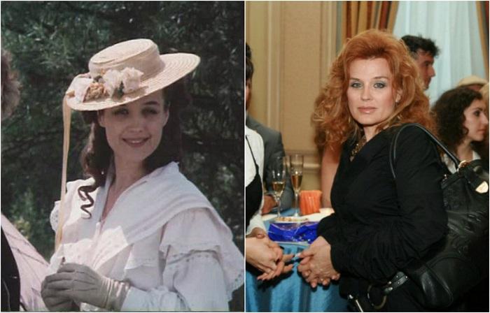 Болгарская актриса театра и кино предстала в образе невысокой стройной Онорины, жены писателя Жюля Верна.