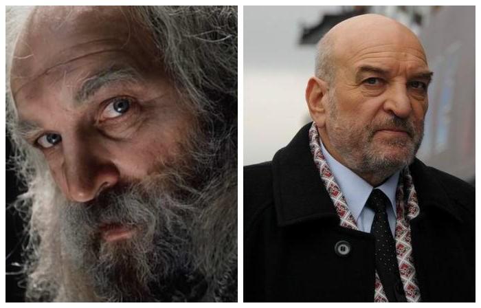 За свою карьеру актер играл царственных особ, простых мужиков, в фильме перевоплотился в учёного монаха Фариа, который знал, где находятся несметные сокровища острова Монте-Кристо.