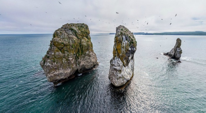 Скалы являются официальным памятником природы и своеобразным символом Авачинской бухты и города Петропавловска-Камчатского.