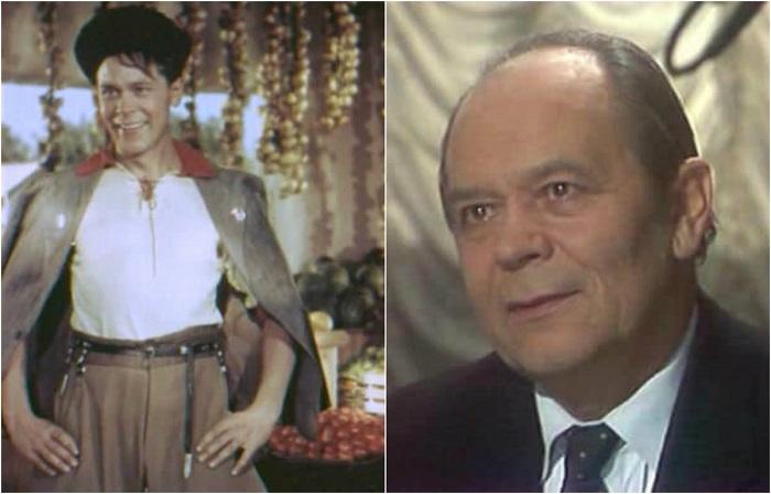 В 1949 году Иван Пырьев пригласил молодого актера на роль Васи Тузова в свою комедию «Кубанские казаки».