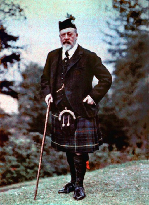 Эдуард VII, 1909 год.