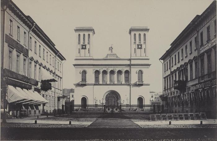 Евангелическо-лютеранская церковь Петербурга.