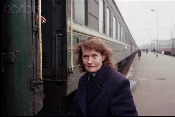 Проводница, обслуживавшая вагон, в котором путешествовал американский журналист Питер Тернли.