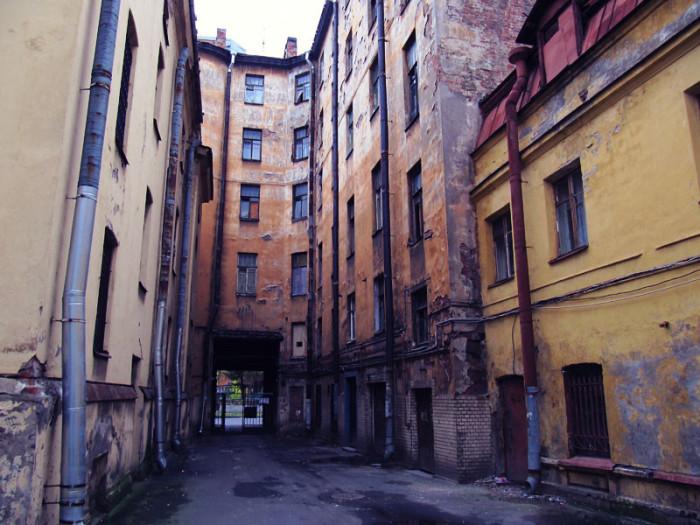 Историческая часть города.